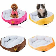 Warm Breathable Soft Padded Cashmere Pet Nest Fleece Puppy Pets Dog Cat House EW