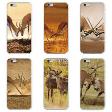 Fashion Deer Protective Case Cover for iPhone7 Samsung Galaxy S7 Edge Welcome