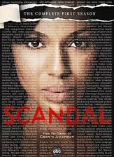 Scandal ~ The Complete 1st First Season 1 One ~ BRAND NEW 2-DISC DVD SET