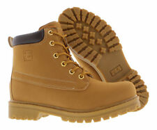 Fila Edgewater 12 Tan Round Toe Faux Suede Men Hiking Boots New In Box