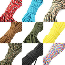 30M 550 Paracord Parachute Cord Lanyard Mil Spec Type III 7 Strand Core100FT OI
