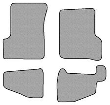 2004-2006 Jeep Wrangler Unlimited 4 pc Set Factory Fit Floor Mats