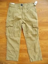 NWT Mens GAP Tan Cotton Lightweight Cargo Pants 29, 30, 31, 32, 34, 36, 38