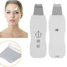 Ultrasonic Ultrasound Facial Skin Scrubber Deep Cleansing Pore Cleaner Beauty MF