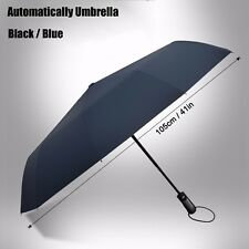 Umbrella Folding Automatic Compact Open Windproof Rain Close Travel Sun Anti New