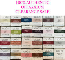 100% Authentic & New - OPI Axxium Soak Off Gel Lacquer - Select your colors