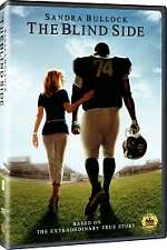 The Blind Side DVD, Sandra Bullock, Tim McGraw, Kathy Bates, Quinton Aaron, Lily