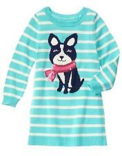 NWT Gymboree Snowflake Fun puppy Dog Sweater Dress SZ 4,5,6,7,8,10,12 Girls