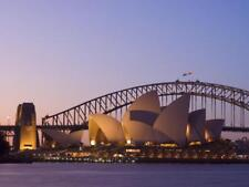 Opera House and Harbour Bridge, Sydney, New South Wales, Australia Stretched