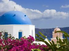 Greek Orthodox Church in Oia Village, Santorini Island, Cyclades, Greek Islands,
