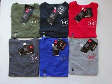 Under Armour Women's Charged Cotton Tri-Blend Freedom Flag Tactical Tee NWT
