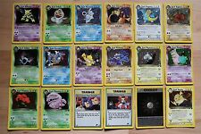 Team Rocket Holo Foil Rare Unlimited / 1st Edition Pokemon Cards