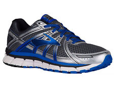 NEW MENS BROOKS ADRENALINE GTS 17 RUNNING SHOES TRAINERS ANTHRACITE 2E - WIDE