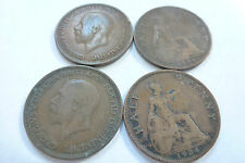 King George V Half Penny coins - choose your year -1912 to 1935 (free post)