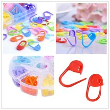 120pc Knitting Weave Plastic Crochet Craft Needle Clip Markers Hooks Accessories