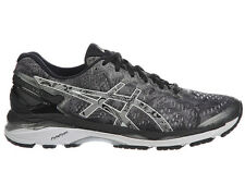 NEW MENS ASICS GEL-KAYANO 23 LITE SHOW RUNNING SHOES TRAINERS CARBON  / SILVER