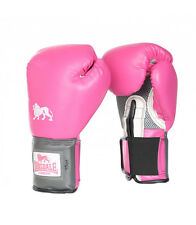 Lonsdale Pro Training Glove Pink Boxing Gloves