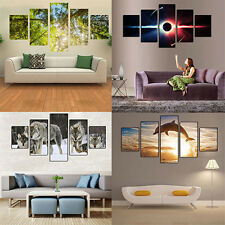 5 Pcs Wall Art Paintings No Frame Posters Home Decor Living Room Gift Delightful