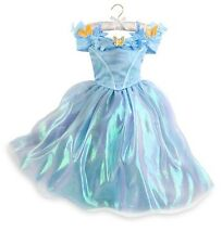 Disney Store CINDERELLA live movie Deluxe princess costume NWT dress gown