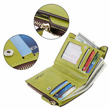 Short Women Zipper And Hasp Cash Coin Card Holder Fashion Wallet Purse Clutch PZ