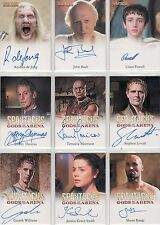 Spartacus Blood & Sand, Gods of the Arena & Vengeance Auto Selection