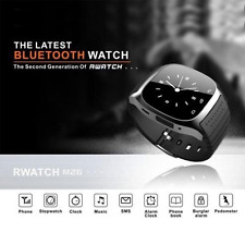 Waterproof M26 Bluetooth Smart Wrist Watch Phone Mate For iphone IOS Android NEW