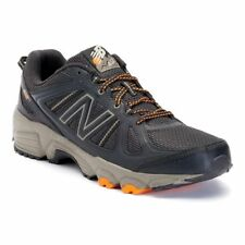 NEW MEN'S NEW BALANCE 412 TRAIL RUNNING SHOES!!! IN DARK BROWN ORANGE!!!