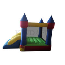 Buddy Kids Inflatable Bouncer Bouncy Castle Jumping House with Slide and Basket
