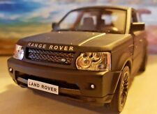 BLACK RANGE ROVER SPORT HSE 1.38 MODEL CAR PERSONALISED PLATES NEW BOYS TOYS