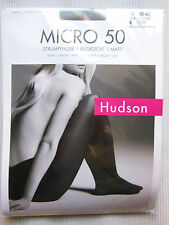 Hudson Micro 50 Pantyhose tights collant 51 the opaque opaque 40-42