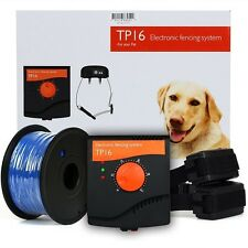 2017 INGROUND RADIO FENCE ELECTRIC DOG BOUNDARY 2 DOGS FENCING COLLAR KIT