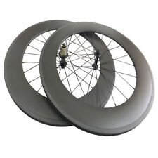 Ceramic Bearing New 88mm Clincher Carbon Wheels Road Bicycle Road Bike Wheelset