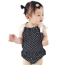 Summer 2pcs Tops+Briefs Costume Infant Toddler Girls Polka Dots Outfits Clothes