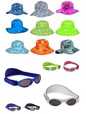 Banz Baby Adventure Excellent UV Protection Sunglasses 0-2 Yrs and Matching Hat