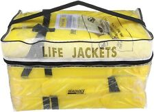Near Shore Type II PFD Bouyant Life Vest, 4-pack, U.S. Coast Guard Approved