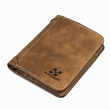 Men PU Leather Coin Purse Pockets Card Holder Clutch Wallet LM03