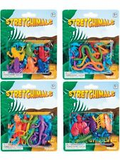 Set of 6 Stretchy Animal Fun Novelty Gift Party Bag Stocking Filler
