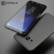 CAFELE Ultrathin Cover TPU Case& Tempered Glass For Samsung Galaxy S7 S8 Plus
