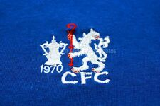 Chelsea FC 1970 FA Cup Final shirt badge crest photograph picture poster print