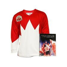Team Canada 1972 Home Jersey With Bonus 8-Disc DVD set