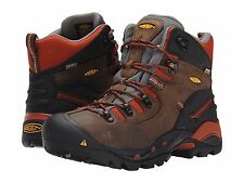 New Men's KEEN Utility Pittsburgh Soft Toe Work Boots - CASCADE BROWN - 1009709