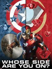 Captain America: Civil War - Captain America Vs Iron Man. Choose a Side Poster