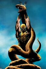 Wolverine No.12 Cover: Wolverine Lifting Poster by Lee, Jae Wall Decor Home