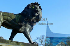 The Maiwand Lion Forbury Gardens, Reading photograph picture print by AE Photo