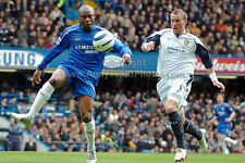 Chelsea FC player William Gallas v West Ham colour print by Andy Evans Photos