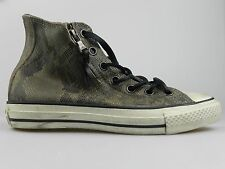Converse John Varvatos CT Double Zip HI Womens Brown Snake Skin Shoes 139719C