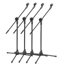 1/2/4pcs Professional Boom Microphone Mic Stand Holder Adjustable Folding Mic SY