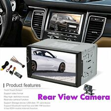 7002 7 Inch Car MP5 DVD Video Player 2 Din With AM+RDS+ Mobile Phones InternetXC
