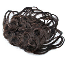 """Base 4.52''x4.52"""" Machine Made Curly Women Human Hair Topper Toupee Hairpiece"""