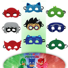 P J Mask Costume for Boys Heros and Villains Kids Birthday Party Halloween Masks
